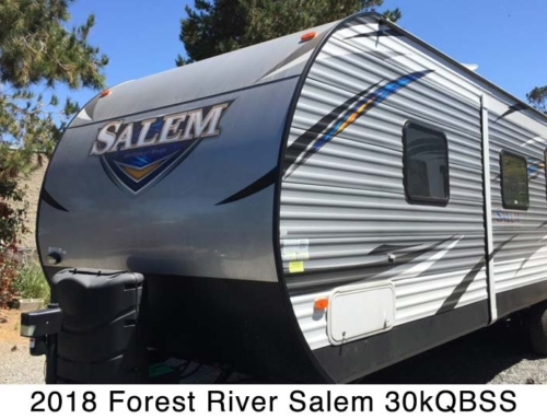 2018 Forest River Salem 30kQBSS