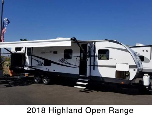 2018 Highland Open Range