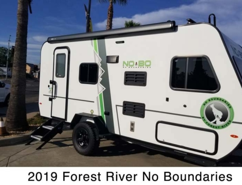 2019 Forest River No Boundaries NB16.8